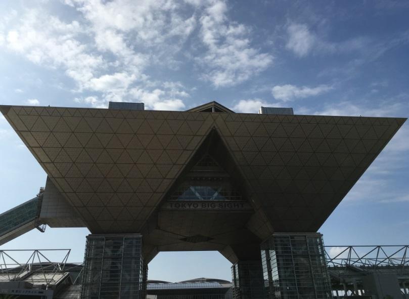 東京ビックサイト 正面